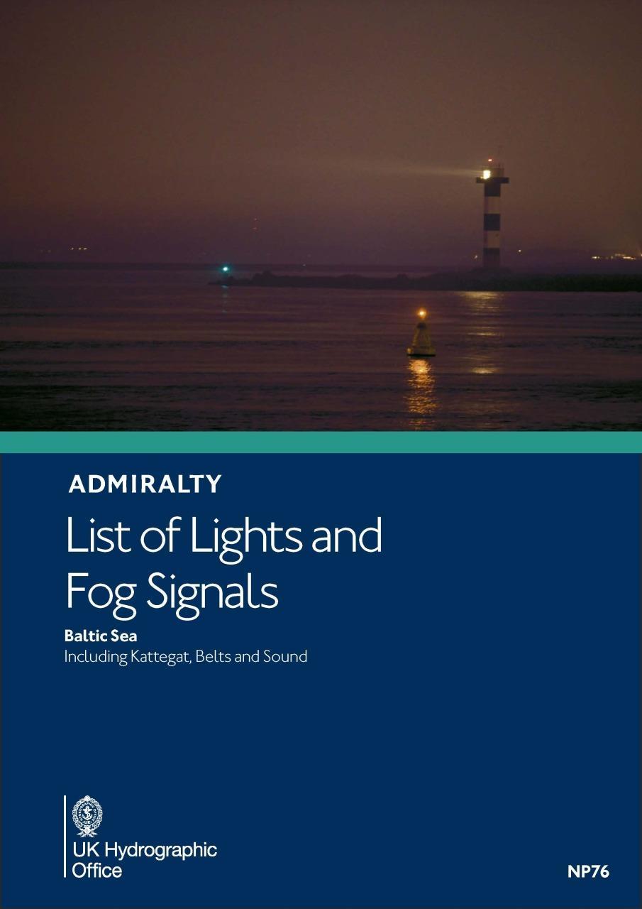 ADMIRALTY NP76 Lights List Vol C - Baltic Sea