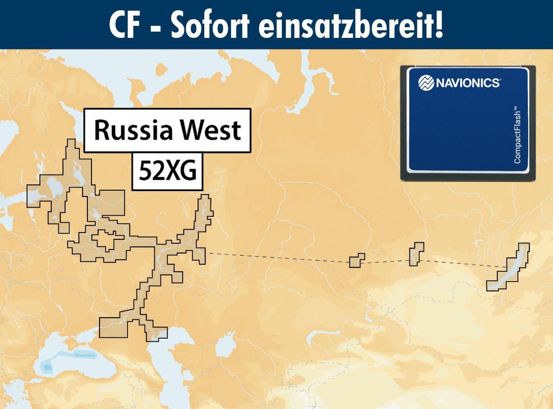 Navionics+ CF 52XG Russland (West)
