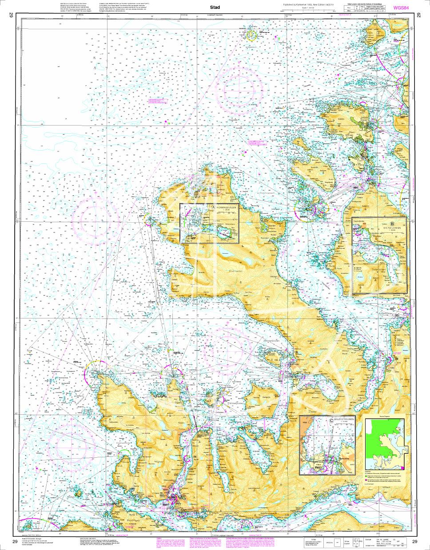 Norwegen N 28 Atlantik Bremanger