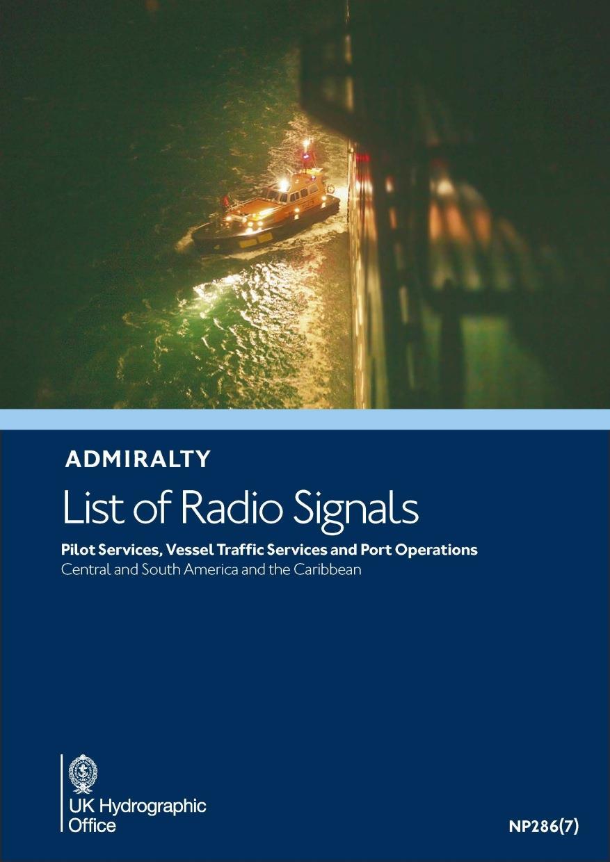 ADMIRALTY NP286(7) RadioSignals Pilot VTS Port - South America