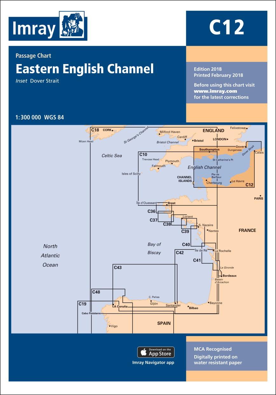 IMRAY CHART C12 Eastern English Channel