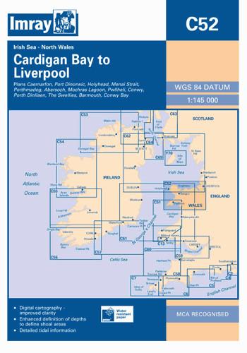 IMRAY CHART C52 Cardigan Bay to Liverpool