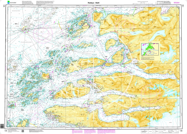 Norwegen N 135 Atlantik Roedoeya - Stoett