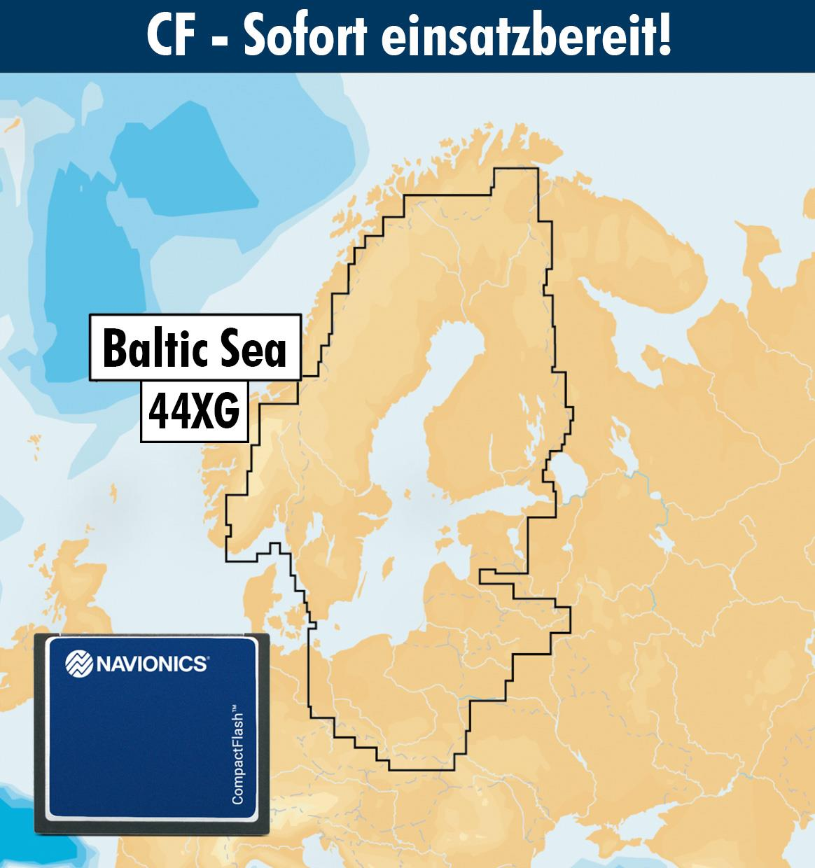 Navionics+ CF 44XG Ostsee (Baltic Sea)