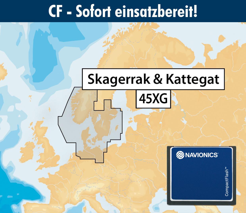 Navionics+ CF 45XG SKAGERRAK & KATTEGAT