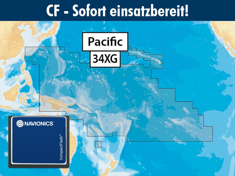 Navionics+ CF 34XG Pazifische Inseln Südsee (Pacific Islands)