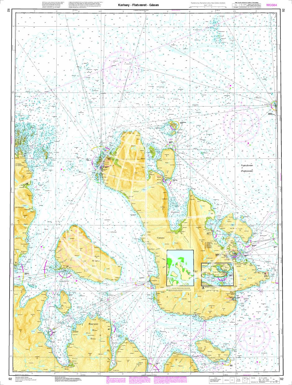 Norwegen N 92 Atlantik Karlsøy - Flatværet - Gåsan