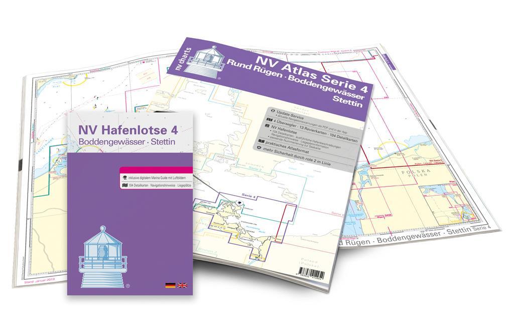 NV Atlas Kartenkoffer Ostsee Serie 1 2 3 4