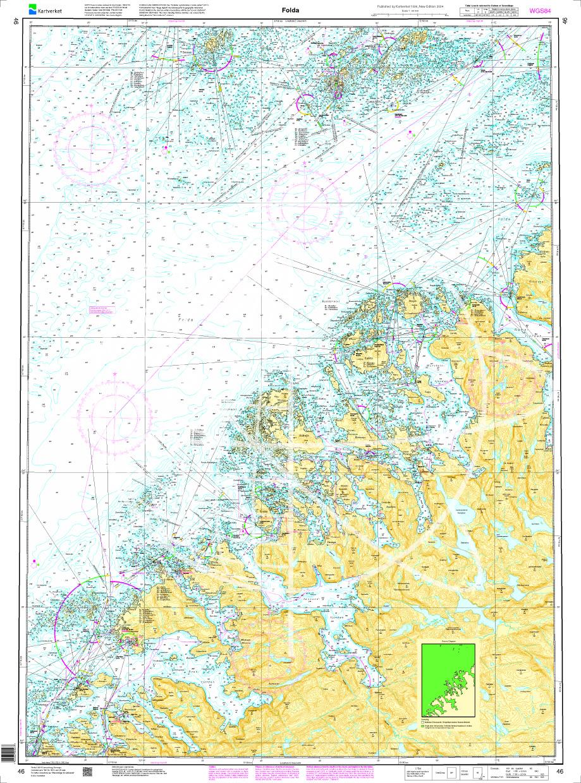 Norwegen N 46 Atlantik Folda