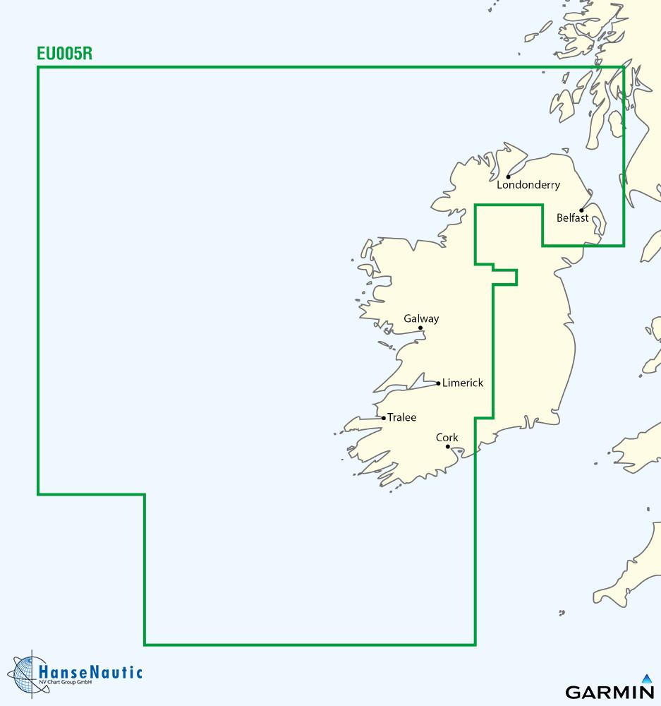 BlueChart Irland Westküste g3 XEU005R