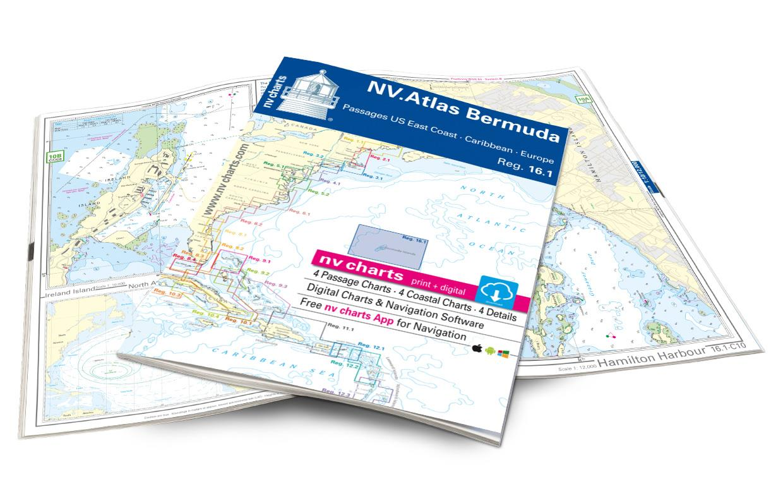 NV Atlas 16.1 Bermuda Islands Passages US East Coast Caribbean Europe