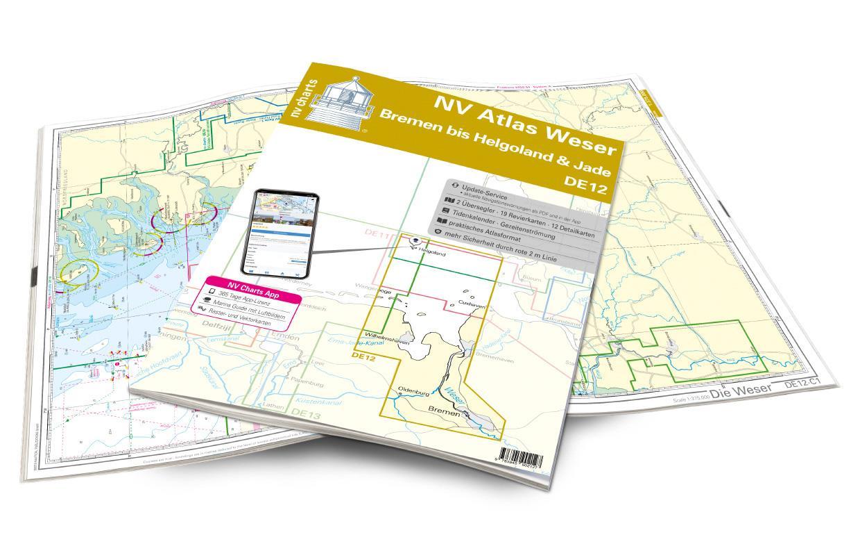 NV Atlas Weser DE12 - Bremen bis Helgoland & Jade