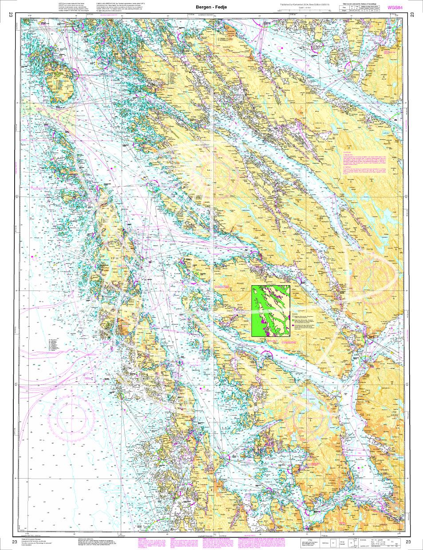 Norwegen N 23 Südwestküste Bergens Fjordwelt Bergen bis Fedje