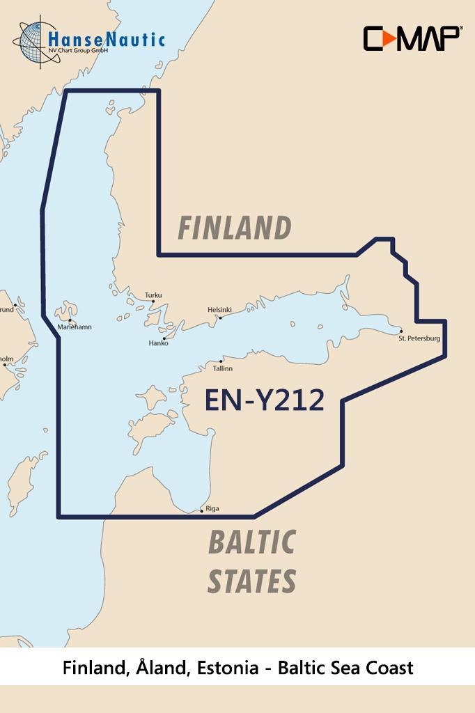 C-MAP Discover Finnland Åland Estland EN-Y212