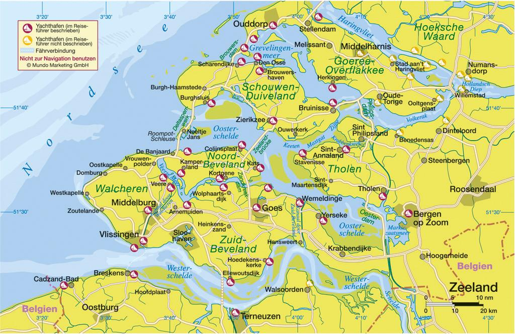 Nautische Reisetipps Zeeland / Niederlande