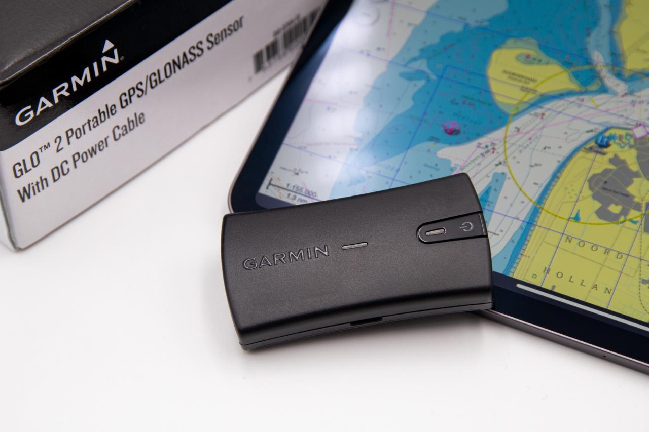 Garmin GLO 2 GPS-Empfänger mit Bluetooth Verbindung