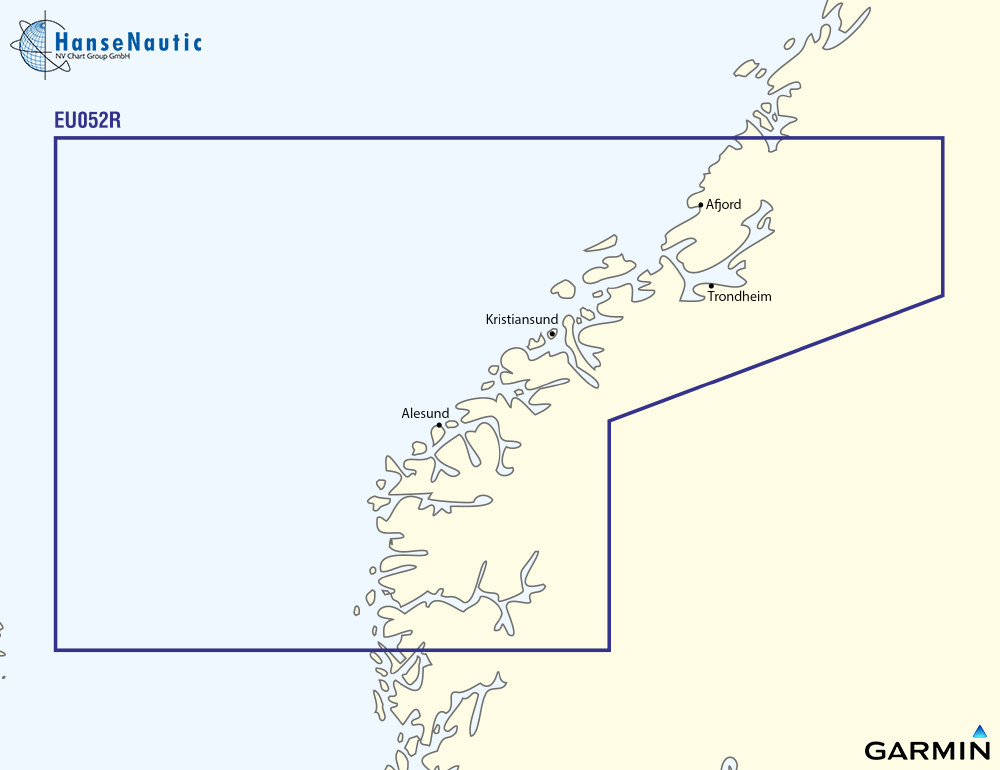 BlueChart Norwegen Sognefjord bis Svefjord g3 XEU052R