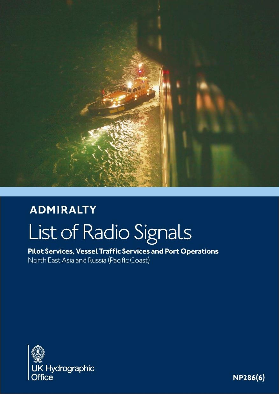 ADMIRALTY NP286(6) RadioSignals Pilot VTS Port - Northwest Pacific