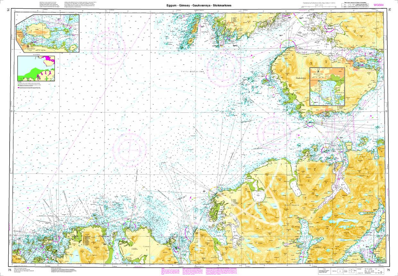 Norwegen N 75 Lofoten Eggum - Gimsoey - Gaukvaeroey - Stokmarknes