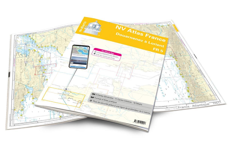 NV Atlas France - FR5 - Douarnenez à Lorient