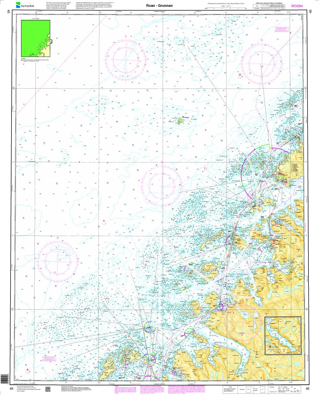 Norwegen N 45 Atlantik von Roan bis Grunnan