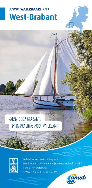 ANWB Waterkaart 13 - West-Brabant