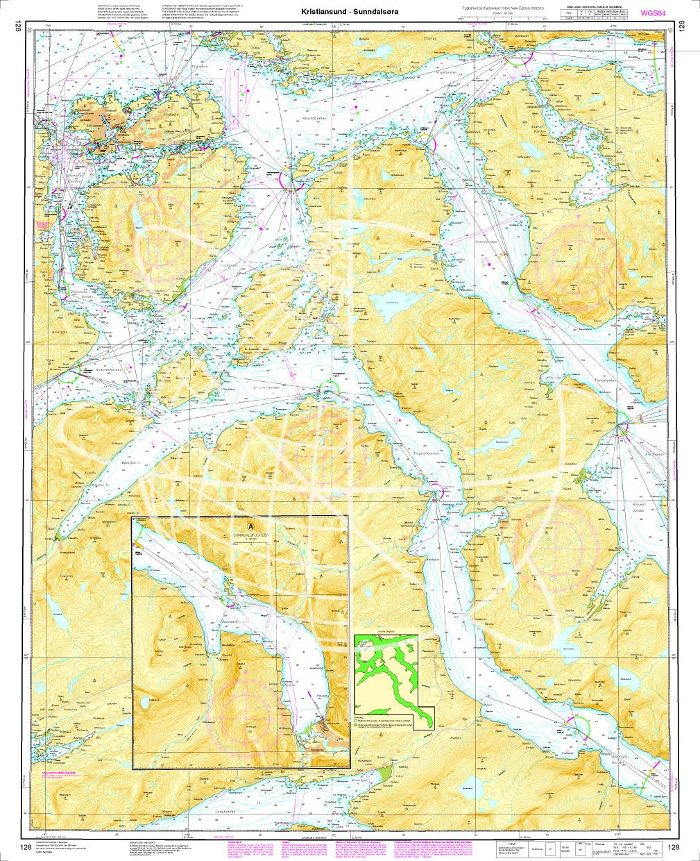 Norwegen N 128 Atlantik von Kristiansund - Sunndalsøra