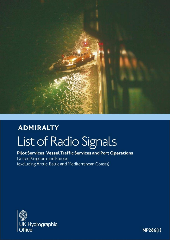 ADMIRALTY NP286(1) RadioSignals Pilot VTS Port - Europe West