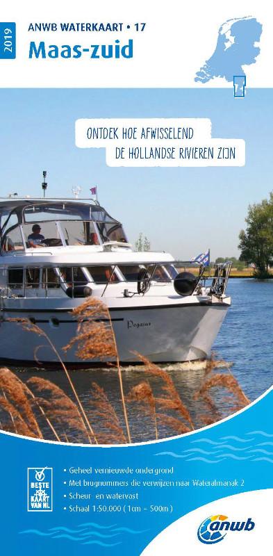 ANWB Waterkaart 17 - Maas-Zuid