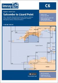 IMRAY CHART C6 Salcombe to Lizard Point