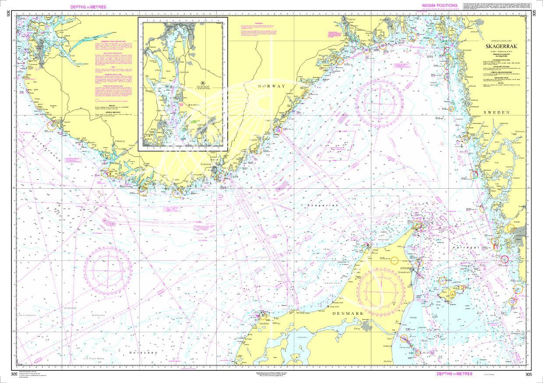 Norwegen N 305 - Skagerrak