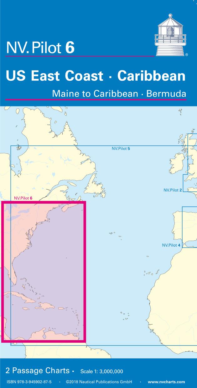 NV Pilot 6 US East Coast Maine to Caribbean • Bermuda