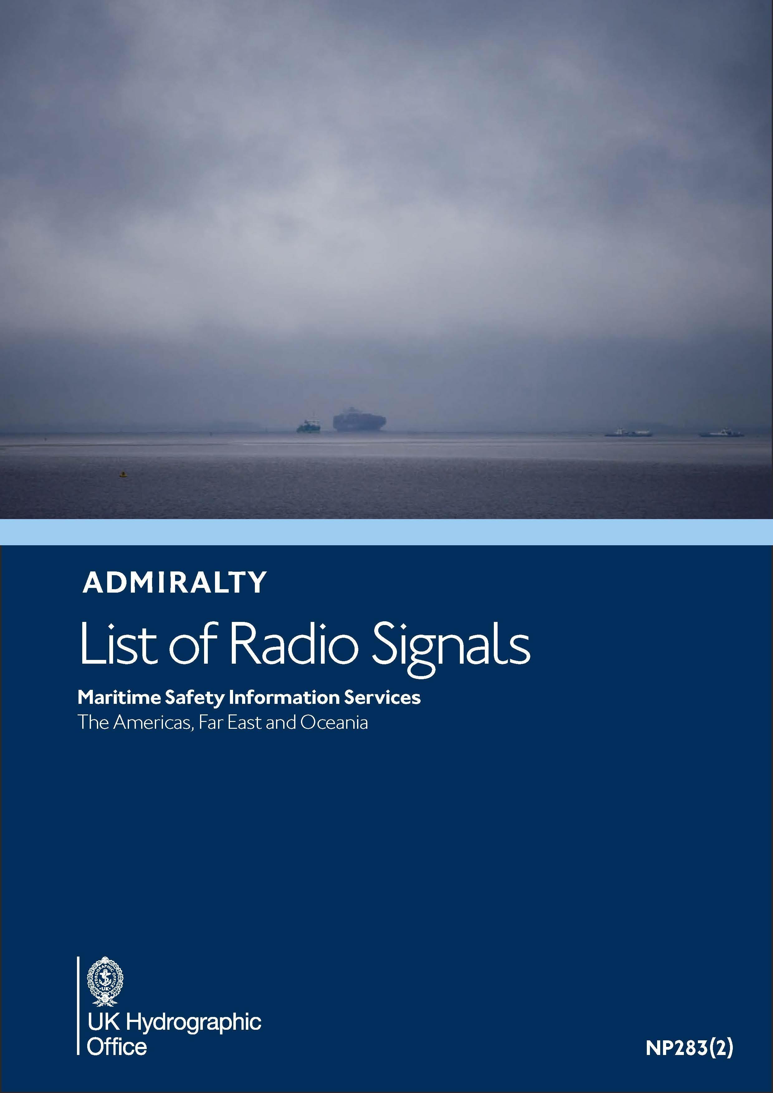 ADMIRALTY NP283(2) List of Radio Signals Volume 3 Part 2