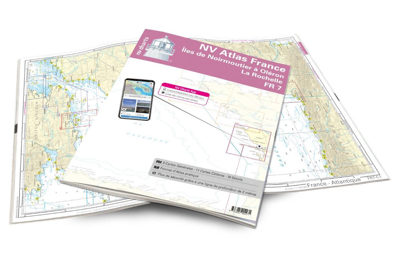 NV Atlas France - FR7 - Îles de Noirmoutier á Oléron - La Rochelle