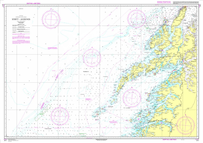 Norwegen N 311 Atlantik Støtt bis Andenes & Lofoten