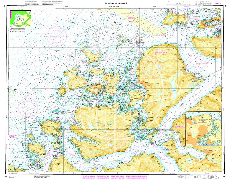 Norwegen N 30 Atlantik vom Leuchtfeucher Haugsholmen bis Ålesund
