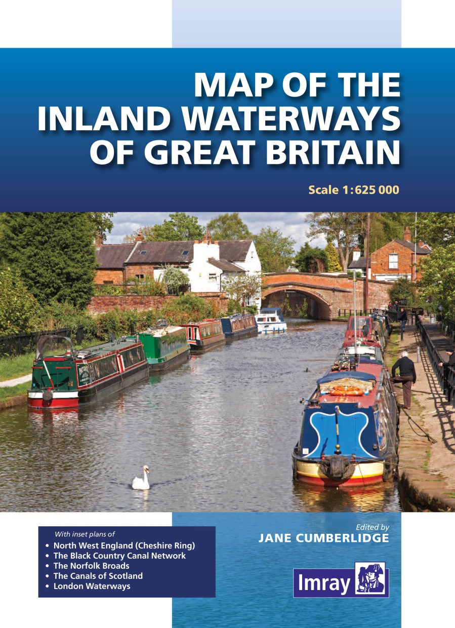 Map of the Inland Waterways of Great Britain