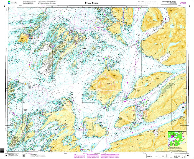 Norwegen N 59 Atlantik von Dønna bis Lurøya