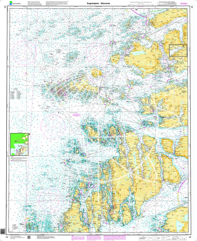 Norwegen N 25 Südwestküste von Sognesjøen bis Stavenes