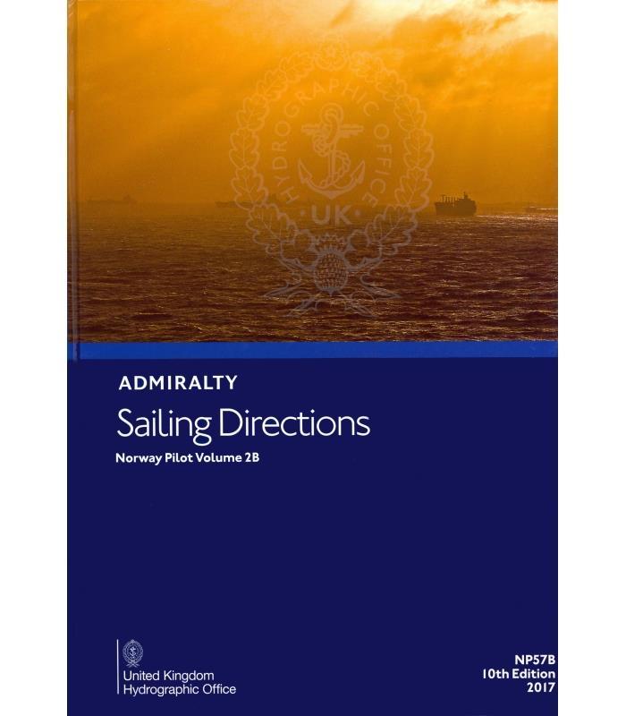 ADMIRALTY NP57B Norway Pilot Vol 2B - Seehandbuch