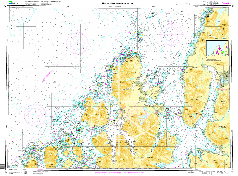 Norwegen N 78 - Lofoten von Hovden über Langenes bis Risøysundet
