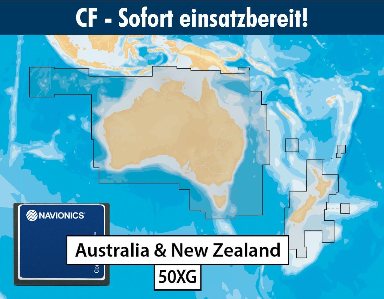 Navionics+ CF 50XG Australien & Neuseeland